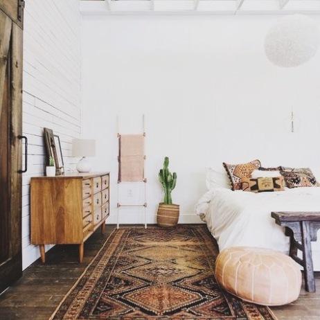 Southwestern-inspired bedroom