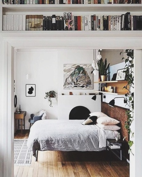 Danish styled bedroom