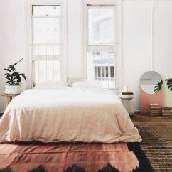 lovely pinks in bedroom