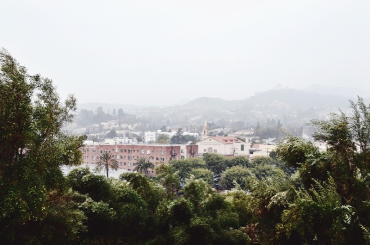 View from Barnsdall Park
