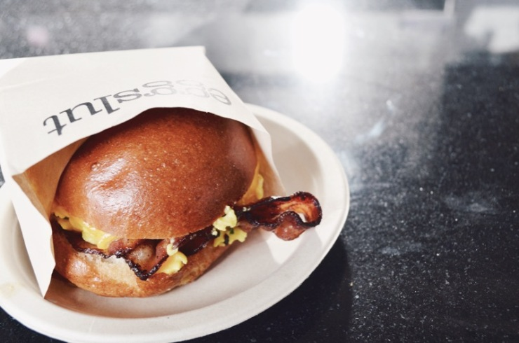 Fairfax sandwich at Eggslut