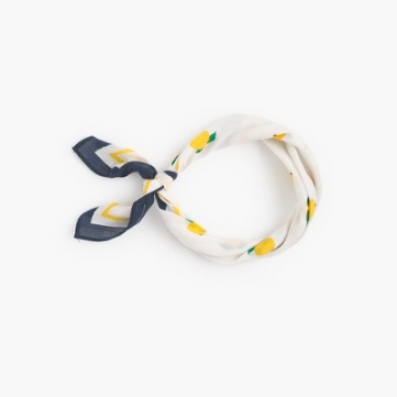jcrew lemon bandana