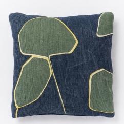 westelm leaf pillow